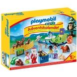 Playmobil 1-2-3 Adventskalender Jul i Djurens Skog