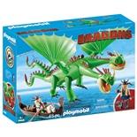 Playmobil DRAGONS Flåbusa och Flåbuse med Rap och Kräk