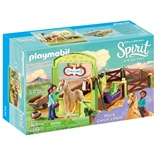 Playmobil Hästbox Pru och Chica Linda
