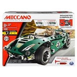 Meccano 5-in-1 Models Roadster Cabriolet