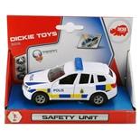 Dickie Toys SOS Polisbil SUV med Ljud och Ljus