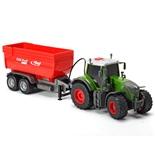 Dickie Toys Fendt 939 Vario Traktor med Släp