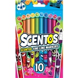 Scentos Scented Markers Fine Line 10-Pack