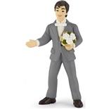 Papo Brudgum med Blommor
