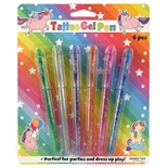 Tattoo Gelpens 6-Pack