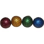 Stressboll i Nät Glitter 1st