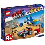 LEGO The Movie 2 Emmet och Bennys Bygg och fixa-verkstad!