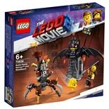 LEGO The Movie 2 Metallskägget och Batman Redo för Strid