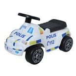 Plasto Toddler Off Road Sparkbil Polis med Mjuka Hjul
