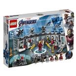 LEGO Marvel Super Heroes Iron Mans Rustningskammare
