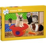 Kärnan Pussel 100 Bitar Pets