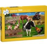 Kärnan Pussel 100 Bitar The Farm