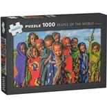Kärnan Pussel 1000 Bitar People of The World Ethiopia