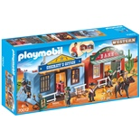 Playmobil Vilda Västernstad att Ta Med