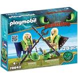 Playmobil DRAGONS Flåbusa och Flåbuse med Flygdräkt
