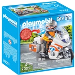 Playmobil Ambulansmotorcykel