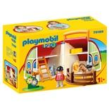 Playmobil 1-2-3 Min Gård att Ta Med