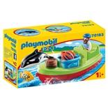 Playmobil 1-2-3 Fiskare med Båt