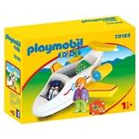 Playmobil 1-2-3 Flygplan med Passagerare