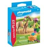 Playmobil Flicka med Ponny