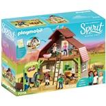 Playmobil Ladugård med Lucky, Pru och Abigail