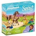 Playmobil Pru med Häst och Föl