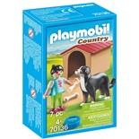 Playmobil Hund med Hundkoja
