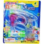 Flash Såpbubbelpistol med Ljuseffekter