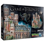 Wrebbit 3D Pussel 845 Bitar Game of Thrones The Red Keep