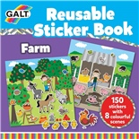 Galt Reusable Sticker Book Farm