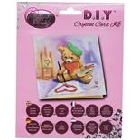 Craft Buddy DIY Crystal Card Kit Teddy Bear