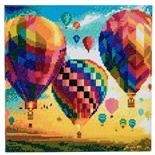 Craft Buddy DIY Crystal Art Kit Hot Air Balloons