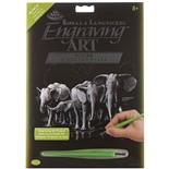 Royal & Langnickel Engraving Art Silver Elefant Hord