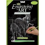 Royal & Langnickel Engraving Art Silver Sto och Föl