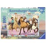 Ravensburger Pussel 100 Bitar XXL Spirit - Lucky and Friends
