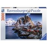 Ravensburger Pussel 3000 Bitar Hamnoy Lofot Norway
