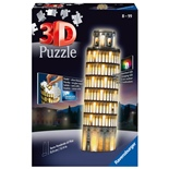 Ravensburger 3D Pussel 216 Bitar Night Edition Pisa