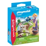 Playmobil Barn med Kalv