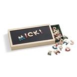 Micki Magnetbokstäver + Låda Senses