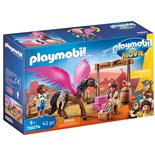 Playmobil: THE MOVIE Marla och Del med Den Flygande Hästen
