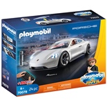 Playmobil: THE MOVIE Rex Dashers Porsche Mission E