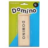 Domino med Trälåda