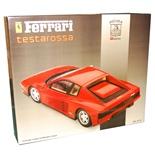 Pocher Rivarossi Ferrari Testarossa Coupé Röd 1:8