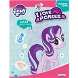 Kärnan Pysselbok My Little Pony med Klistermärken