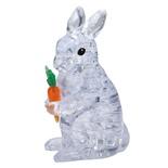 Crystal Puzzle 3D Pussel 41 Bitar Rabbit