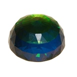 Ellips Diamant i Glas Multicolor 6 cm