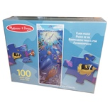 Melissa & Doug Golvpussel 100 Bitar Under the Sea