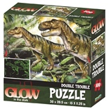 Glow in The Dark Pussel 100 Bitar Dinosaurier
