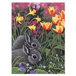 Royal & Langnickel Måla efter Nummer Kaninungar på Våren