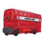 Crystal Puzzle 3D Pussel 53 Bitar London Buss